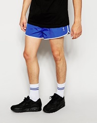 Religion Runner Short Shorts Blue