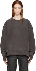 Yeezy Season 3 Grey Crewneck Sweatshirt