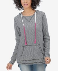 Lucky Brand Striped Pullover Hoodie Navy Multi