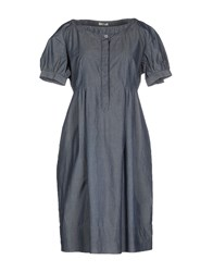 Siviglia Denim Dresses Short Dresses Women Grey