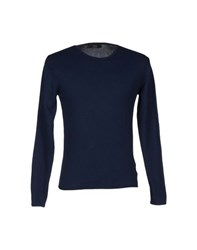 Fdn Knitwear Jumpers Men Dark Blue