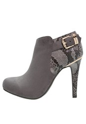 Xti Ankle Boots Grey