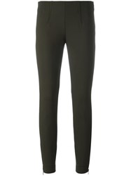 Incotex Skinny Trousers Green
