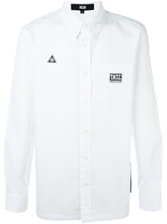 Ktz Logo Patch Shirt White