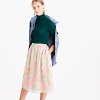 J.Crew Collection A Line Skirt In Austrian Tulle