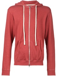 Fadeless 'Burn Out' Hoodie Red