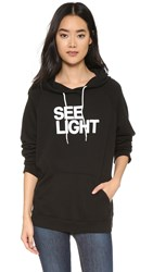 Freecity See Light Hooded Sweatshirt Super Black