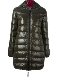 Duvetica Padded Coat Green