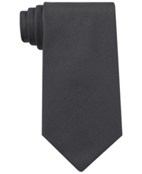 Kenneth Cole Reaction Darien Solid Tie Charcoal