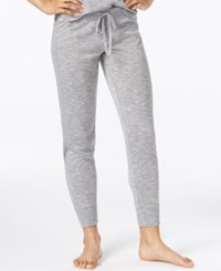 Alfani Jogger Pajama Pants Only At Macy's Grey Spacedye