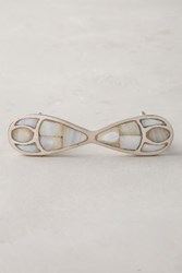 Anthropologie Pearlescent Serpentine Handle Oyster