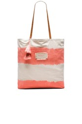 Seafolly Indian Summer Tote Coral