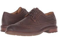 Sperry Gold Annapolis Wingtip Brown Men's Lace Up Wing Tip Shoes