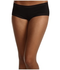 Ongossamer Cabana Cotton Boyshort 025973 Black Women's Underwear