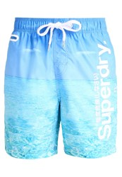 Superdry Swimming Shorts Tropic Sea Blue