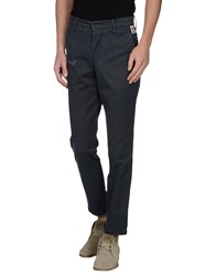 Franklin And Marshall Trousers Casual Trousers Men Slate Blue