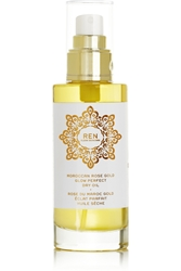 Ren Skincare Moroccan Rose Gold Glow Perfect Dry Oil 100Ml