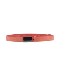Cnc Costume National C'n'c' Costume National Belts Coral