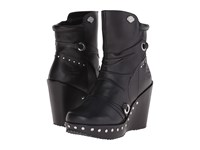 Harley Davidson Kendra Black Women's Dress Pull On Boots