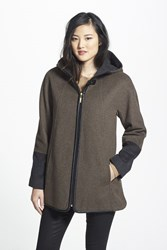 Ellen Tracy Petite Women's Wool Blend Duffle Coat