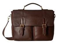 Scully Liam Workbag Brief Brown Briefcase Bags