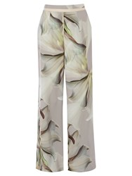 Coast Secily Printed Trousers Multi