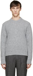 Calvin Klein Grey Wool Sweater