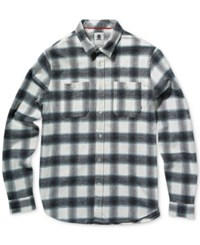 Element Men's Medford Plaid Shirt Eclipse