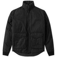 Our Legacy Puffed Funnel Jacket Black
