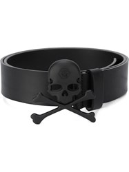 Philipp Plein 'Killer' Belt Black