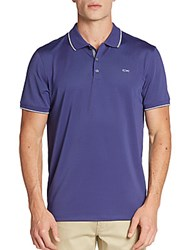 Calvin Klein Contrast Tipped Polo Shirt Blue Ribbon