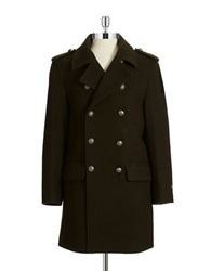Lauren Ralph Lauren Double Breasted Coat Olive