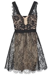 Little Mistress Cocktail Dress Party Dress Monochrome Black