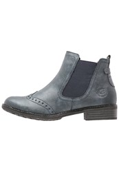 Marco Tozzi Ankle Boots Navy Antic Dark Blue