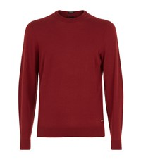 Boss T Borello Cashmere Sweater Male Red