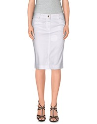 Marina Yachting Skirts Knee Length Skirts Women White