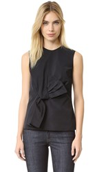 Victoria Beckham Twist Bow Top Black