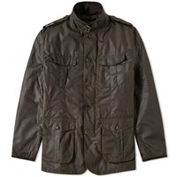 Barbour Dock Wax Jacket Green