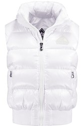 Pyrenex New Mythic Quilted Glossed Shell Down Gilet White