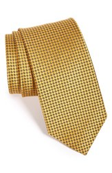Men's J.Z. Richards Geometric Silk Tie Yellow