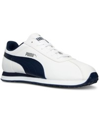 Puma Men's Turin Casual Sneakers From Finish Line White Peacoat