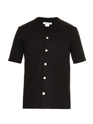 Helmut Lang Flat Loop French Terry Short Sleeved Shirt