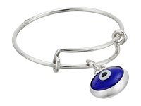 Alex And Ani Evil Eye Expandable Wire Ring Sterling Silver Ring