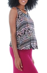Women's Everly Grey 'Brisa' Maternity Tank Tribal Pink