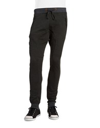 American Stitch Quilted Jogger Charcoal
