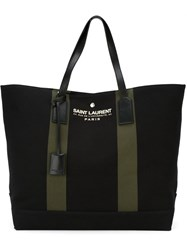 Saint Laurent Oversized Shopper Tote Black