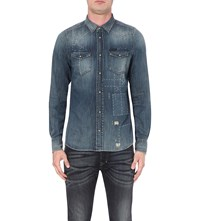 Diesel New Sonora Slim Fit Denim Shirt