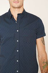 Forever 21 Abstract Polka Dot Shirt
