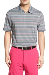 Men's Cutter And Buck 'Force Stripe' Drytec Golf Polo