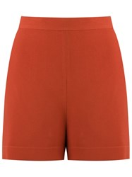 Andrea Marques High Waisted Shorts Brown